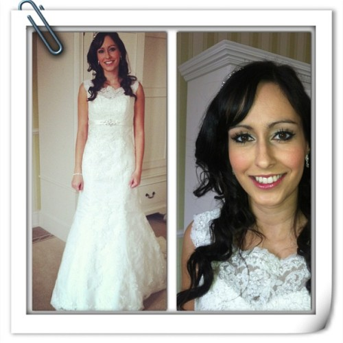 The beautiful Shamina from this mornings wedding. Absolutely love her dress and she had some great planning advice. X x x