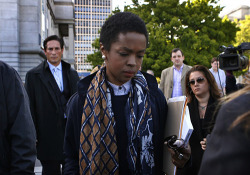 "mochafleur:  tranqualizer:   Lauryn Hill Ordered by the Court to Undergo ""Counseling"" Due to her ""Conspiracy Theories"" The name of Lauryn Hill's breakout album was The Miseducation of Lauryn Hill but it now appears that the powers that be would like her to record a new album called The Re-Education of Lauryn Hill. After appearing in court for tax evasion, Hill was sentenced to three months in jail PLUS she must attend ""counseling"" due to her ""conspiracy theories"". According to the IBTimes, Hill told the court: ""I am a child of former slaves who had a system imposed on them. I had an economic system imposed on me."" Furthermore, Hill also believes that artists are being oppressed by (what the article calls) ""a plot involving the military and media"". Because of these statements, Hill was ordered to undergo ""counseling"", which is a way of saying that she is mentally ill and that she needs some sort of re-programming session regain ""sanity"". In 2012, Hill published a thoughtful letter describing the corruption, the oppression and the control of the music industry and her desire to escape it.  In one part of the letter, Lauryn states ""It was this schism and the hypocrisy, violence and social cannibalism it enabled, that I wanted and needed to be freed from, not from art or music, but the suppression/repression and reduction of that art and music to a bottom line alone, without regard for anything else.  Over-commercialization and its resulting restrictions and limitations can be very damaging and distorting to the inherent nature of the individual.  I Love making art, I Love making music, these are as natural and necessary for me almost as breathing or talking.  To be denied the right to pursue it according to my ability, as well as be properly acknowledged and compensated for it, in an attempt to control, is manipulation directed at my most basic rights!  These forms of expression, along with others, effectively comprise my free speech!  Defending, preserving, and protecting these rights are critically important, especially in a paradigm where veiled racism, sexism, ageism, nepotism, and deliberate economic control are still blatant realities!!!"" (See my article entitled Lauryn Hill's Tumblr Letter on the Music Business for the full letter).  wow, way to fucking delegitimize and pathologize the experiences of a Black woman by abusing mental health resources and language to avoid the real shit she brings up.   Conspiracy theories because oppression is not real."