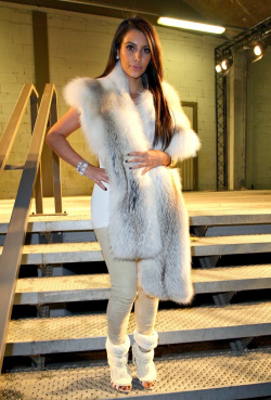 March 6, 2012: Kim at Kanye West's Fall/Winter 2012/2013 Ready-To-Wear Collection show in Paris.