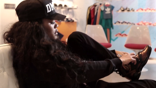 thefollowfashion:   TEYANA TAYLOR X ADIDAS ORIGINALS 'HARLEM GLC' SNEAKERS 2013