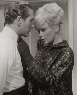 mudwerks:  Elke Sommer, 1963 (by pictosh) …with Paul Newman.