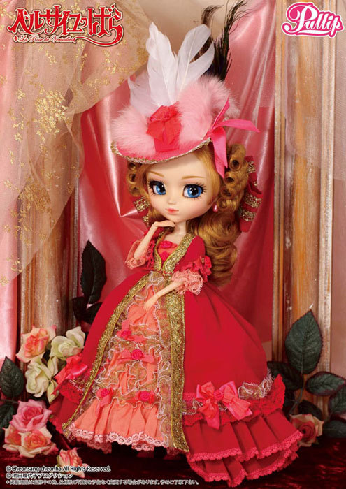 Marie Antoinette Pullip Doll source: amiami.co.jp