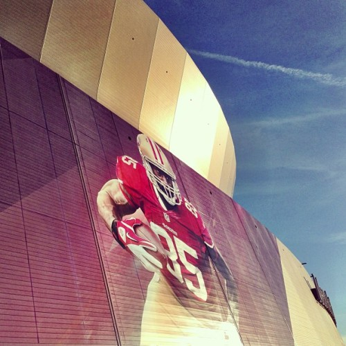 Go time. Go Niners.  (at Super Bowl XLVII)