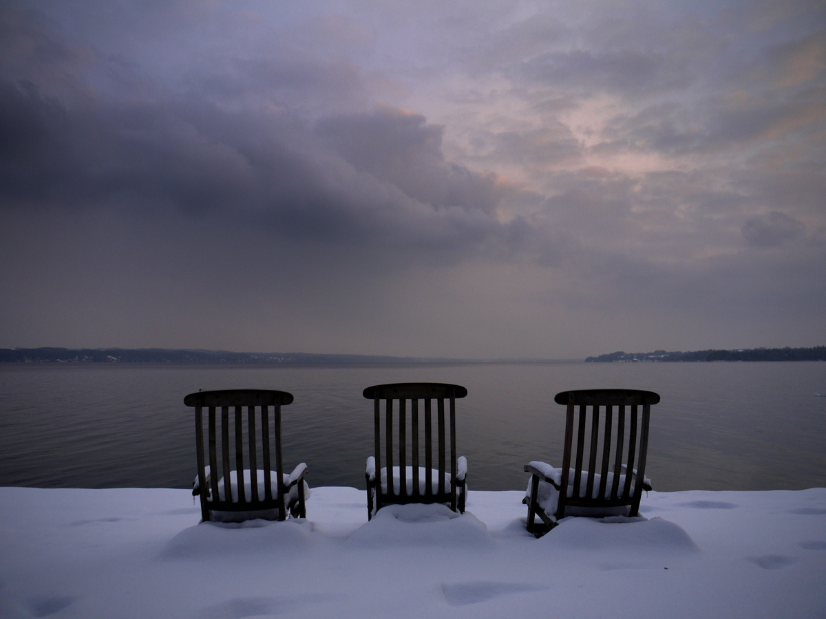 stompin:  Lake Starnberg, at dusk II