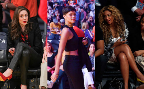 6 celebs with killer courtside style.