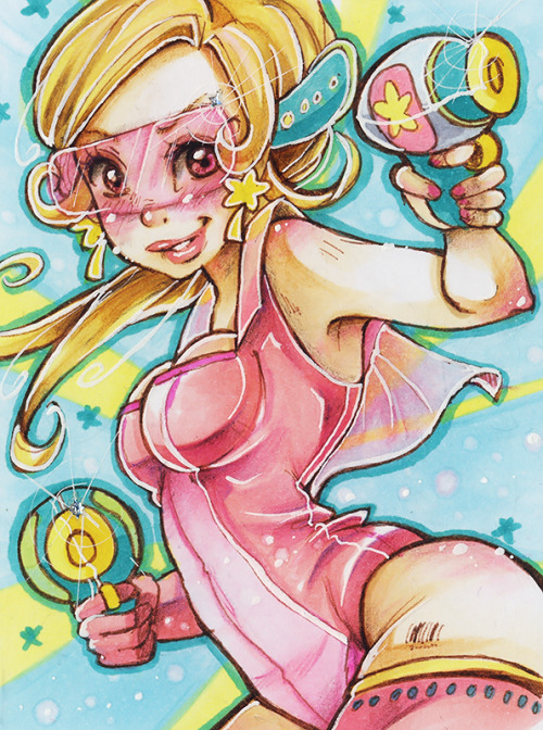 Another ACEO Card! Hope you like that little bubble girl <3http://evayabai.deviantart.com/http://www.facebook.com/EvaYabai