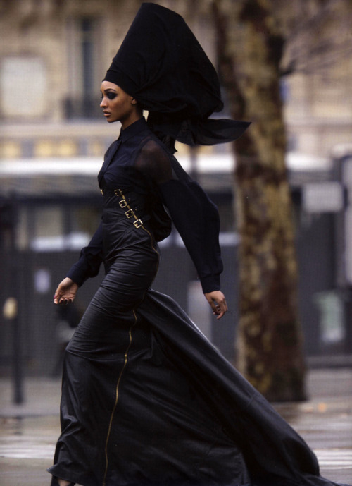 devoutfashion:  Jourdan Dunn Antidote Magazine Spring Summer 2013 / The Street Issue  Photographer : Hans Feurer  Bene Gesserit feels