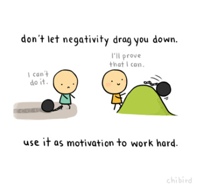 chibird:  Don't let negative thoughts bog down your days. Dispel a few of them and maybe you'll see a clearer (and brighter) picture. ^^