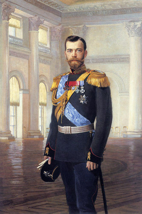 tearsofnicholas:  Nicholas II of Russia, painted by Earnest Lipgart.