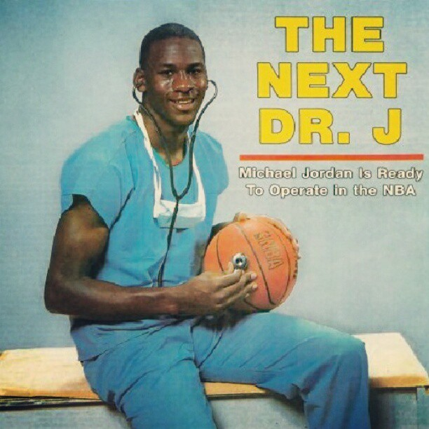 Michael Jordan photo - The Next Dr. J.