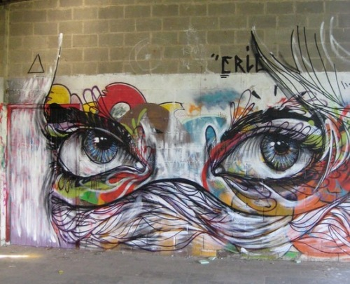 paint-the-city:  eyes