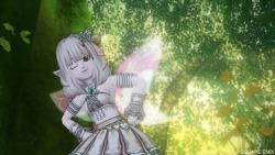 シルフウィングで蝶々の妖精♪