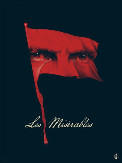 minimalmovieposters:  Les Miserables by Phantom City Creative