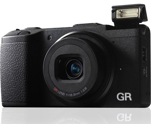 The Pentax/Ricoh GR point and shoot is one smart looking camera