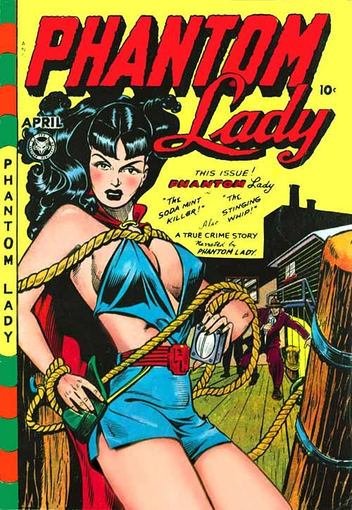 retrogirly:  Phantom Lady, 1940s