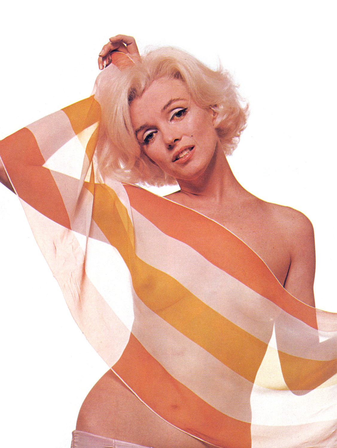 Marilyn photographed by Bert Stern, 1962