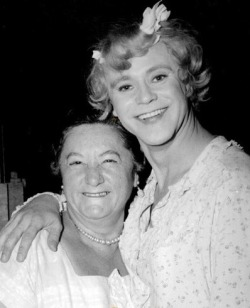 The gorgeous Jack with (who I presume to be) Tony Curtis' mother.