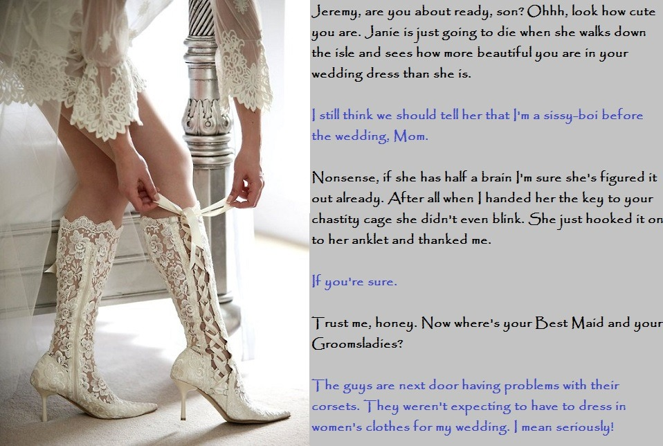 thefemmeside:   Competing Brides: Wouldn't that be nice?
