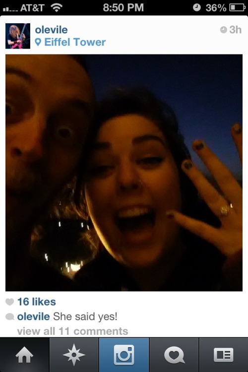 rattlebread:  Ol is getting married???!!! I'm so happy for him omfg congrats