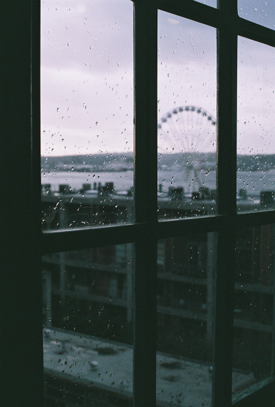 Rainy days always remind me of you.