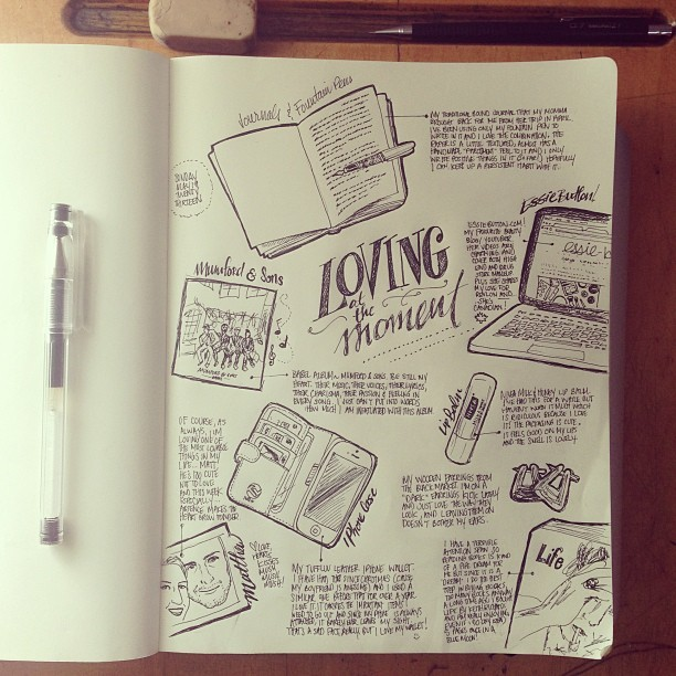 latest doodles! sketch journaling is love. #sketch #moleskine #journal #writing #handwriting #handdrawn #lettering #handlettering #art #illustration #illustrator #design #loving #pilotpen #pilot #ink #notebook #notes #sketchnotes #sketchbook
