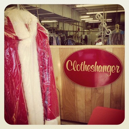I just picked up Santa's Dry Cleaning. (This is awesome!) (at The Clotheshanger)