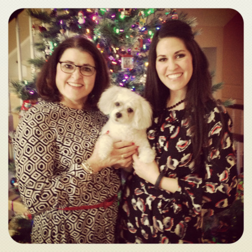 Merry Christmas (!!!) from the ladies of the house.