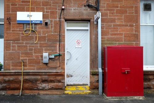 Found composition, Ayr station. March 2013.