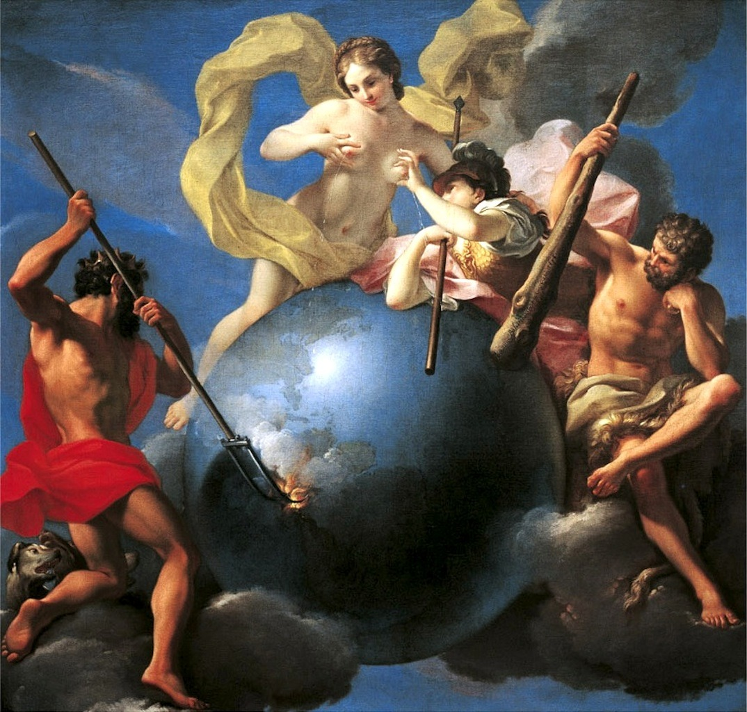 necspenecmetu:  Antonio Balestra, The Riches of the Earth, 1698