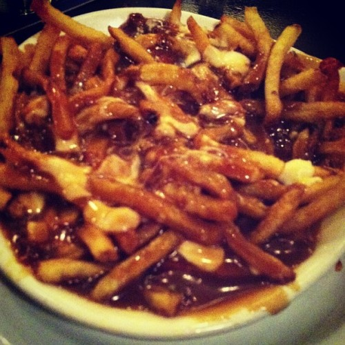 First but definitely not last order of poutine while I'm in Toronto. #poutine