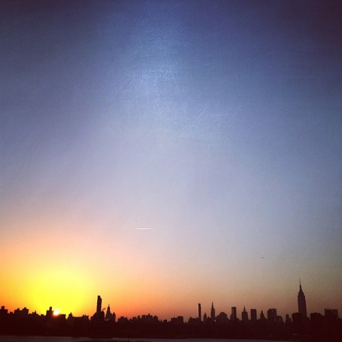 #NYC #sunset (at The Ides at Wythe Hotel)