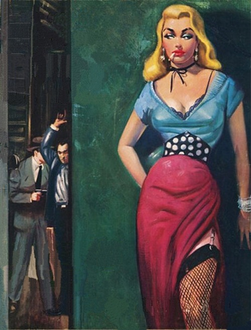vintagecoolillustrated:  Women in Crime