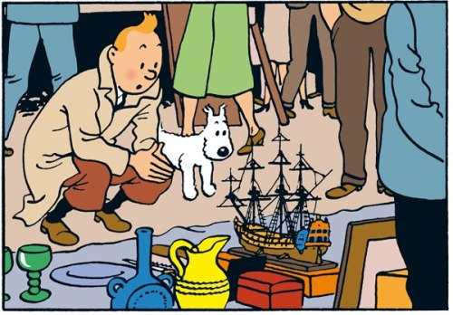"nedhepburn:  ""What the fuck is this?"" said Tintin.""Raworrrrr,"" said Snowy, for he was a dog, and could not talk.""Seriously, I have no idea what the fuck this is,"" slurred Tintin, his breath reeking of cheap whiskey, ""Or where I am. Where the fuck am I.""""Raworrrrrrrararar,"" said Snowy, convincingly. ""I'll buy that pirate ship,"" said Tintin, ""I don't know why I want it. I'm just fucking bored and lonely and this might just stave off the inevitable soul-crushing boredom that crashes over you like a giant, black wave of depression when you realize you're not a young man anymore and the slow hand of death reaches evermore closer.""Tintin reached into his jacket. ""How do I have $30 more than I remember? Did I MAKE money last night, Snowy? What the fuck did I get up to? Who makes money when their blackout drunk? And why do I have this corncob pipe in my other pocket? Did Captain Haddock…?"" ""Rawwwwarrrrrarr,"" said Snowy, a dog, unable to talk."