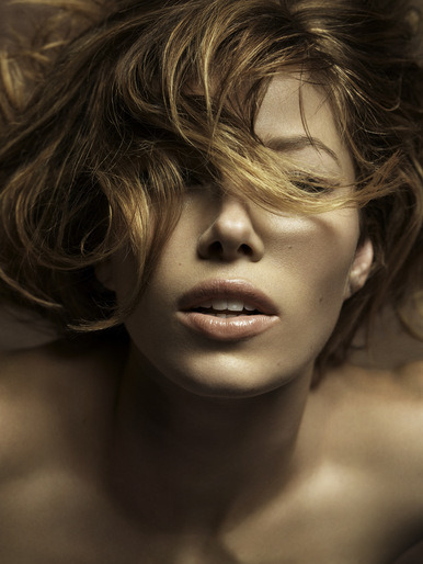 Jessica Biel by Mark Abrahams