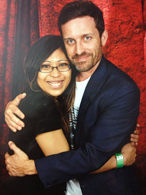 My Rob Benedict Photo Op.