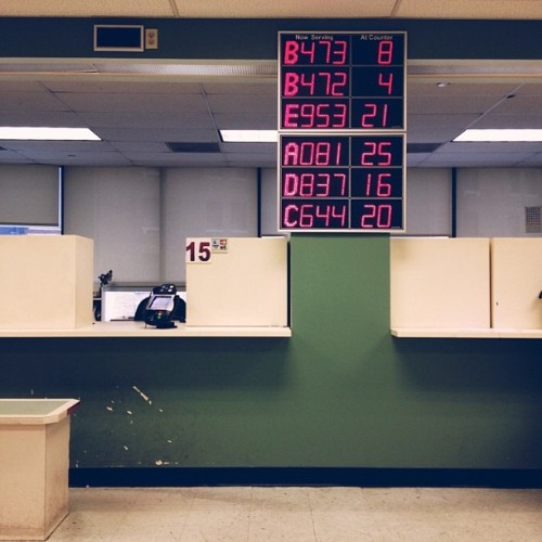 A084 (at New York State DMV)