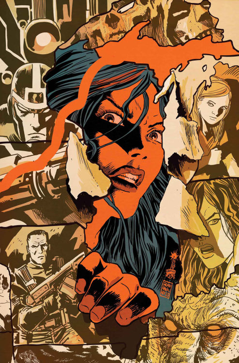 vejigante:  Cover for Red She-Hulk #67 Beautiful art by Francesco Francavilla.