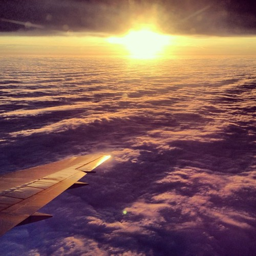 Above the clouds, above the dreary weather, there is sun above London! by earthxplorer http://instagr.am/p/UGLK5As0VL/