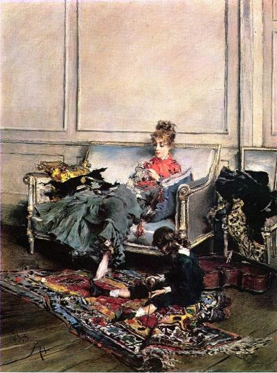 fleurdulys:  Peaceful Days - Giovanni Boldini 1875