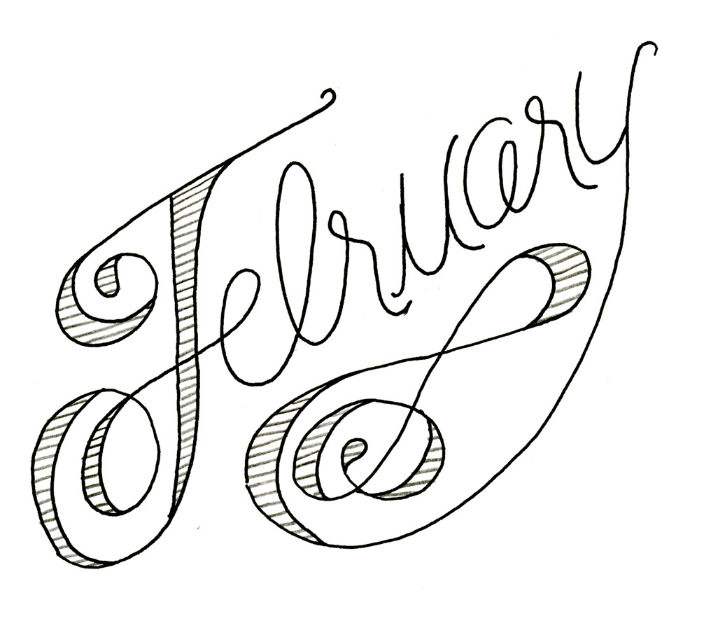 Hellllllo February. Lots of plans for you :)