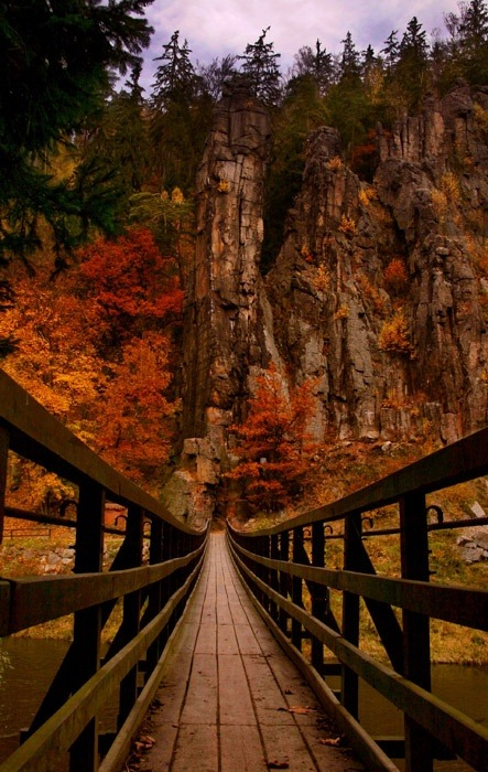 Canyon Bridge, Slovenia photo via tracy