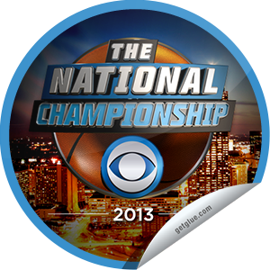 I just unlocked the 2013 NCAA Men's Basketball Championship Game sticker on GetGlue                      2970 others have also unlocked the 2013 NCAA Men's Basketball Championship Game sticker on GetGlue.com                  You're watching the 2013 NCAA Championship! Dribble your way to the TV and layup on your couch to watch this epic game. May the best team win! Share this one proudly. It's from our friends at Turner Sports & CBS Sports.