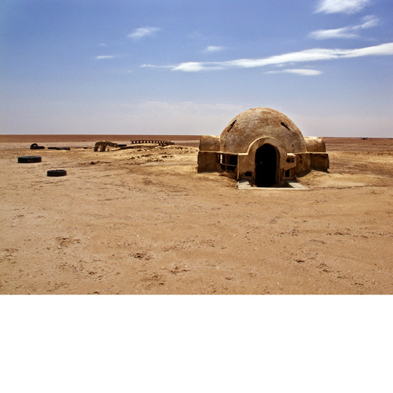 in 1976, the Star Wars production crew built Tatooine in the Tunisian desert, only to abandon the set after filming. Nearly four decades later, photographer Rä di Martino has photographed its decay. (via What Luke Skywalker's Home Looks Like Today)