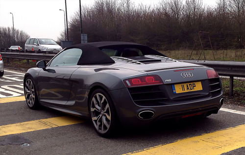 Power for everyday Starring: Audi R8 V10 Spyder (by jasoncornish)