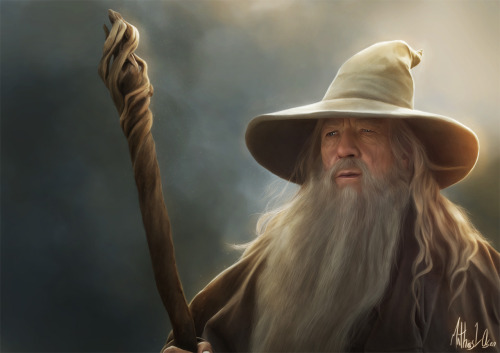 Gandalf - Digi-painting by *Lasse17