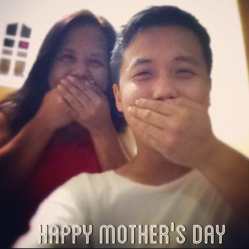 #HappyMothersDay to the best mama in the world. May ayaw lang kami ipakita! :) (at Santos-Bautista Residence)
