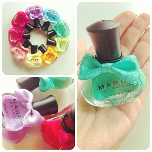 Cuteness overload!!! March nail polishes by @bornprettystore