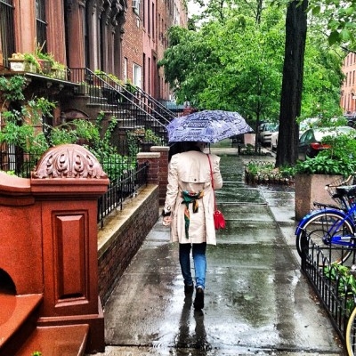 bergdorfgoodman:  BG Umbrella weather.