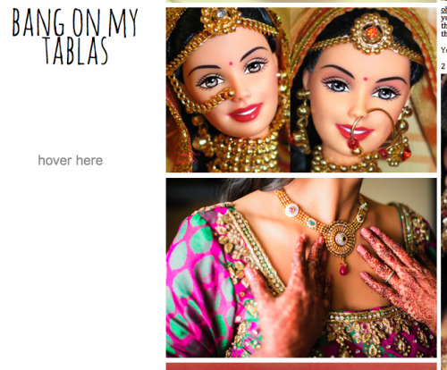 THE TWOHEADED BARBIE DULHAN FROM HELL.