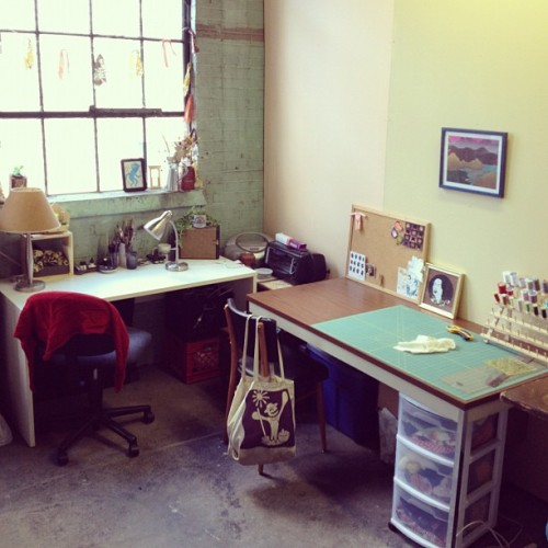 New studio in the Fell Building!